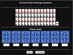 Pai Gow Calculator