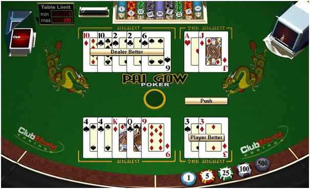 Tips for playing pai gow poker coyote cash slot machine