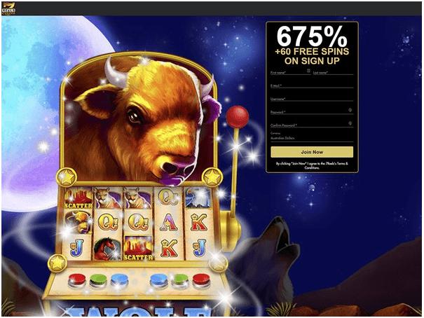 7 reels casino AUD