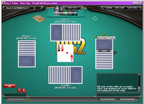 Big 2 Poker How to play the game