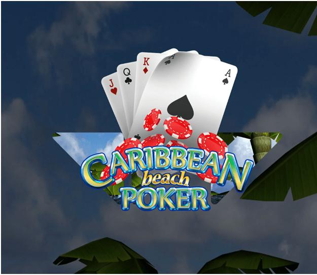 Panduan untuk bermain Caribbean Beach Poker dari Wazdan