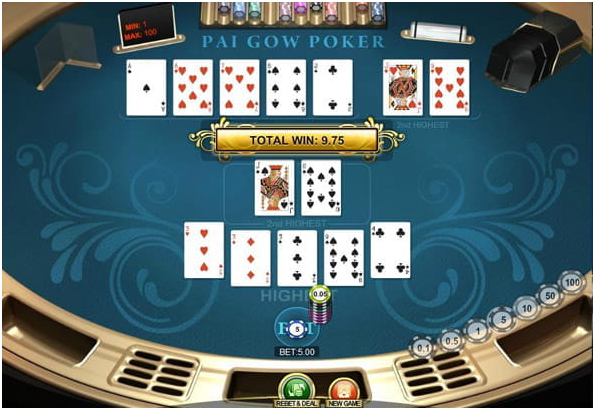 Fortune side bet in Pai Gow