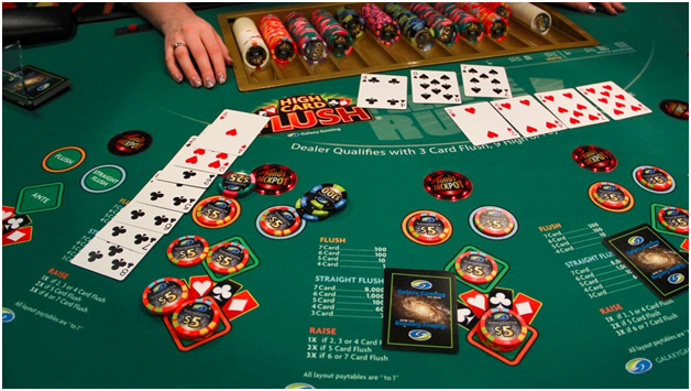 Guide to play Four Card Poker at online casinos