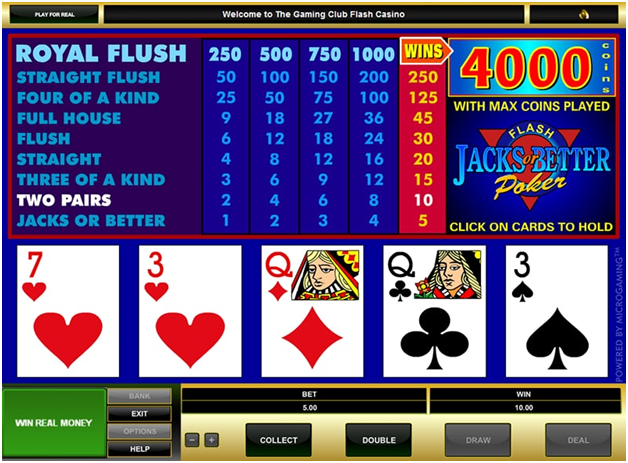Panduan-untuk-bermain-Jacks-or-Better-Poker