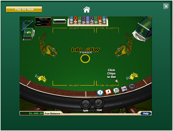 Pai Gow Poker Online Free