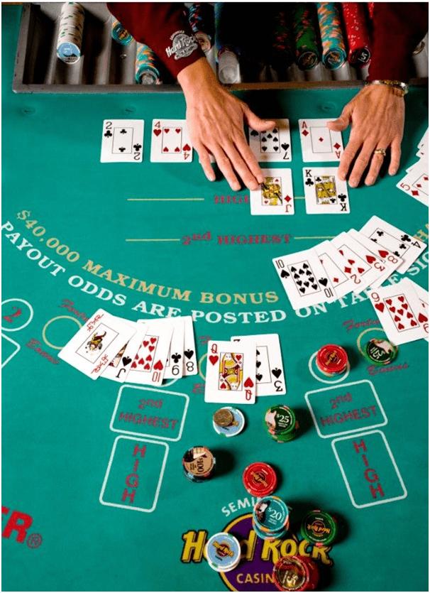 Pai Gow Poker in las Vegas