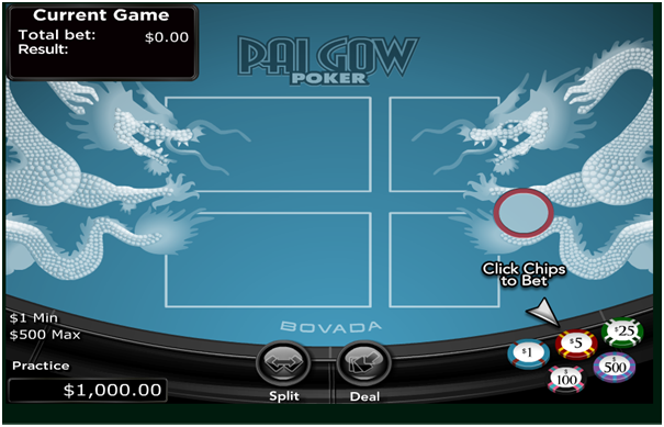 Pai Gow Poker Game Variants
