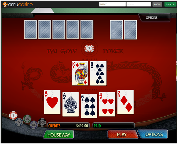 Pai Gow at Emu Casino