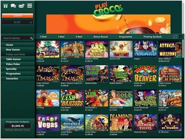 Play Croco real AUD casino