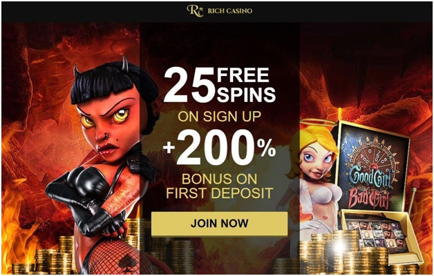 Rich Casino free bonus